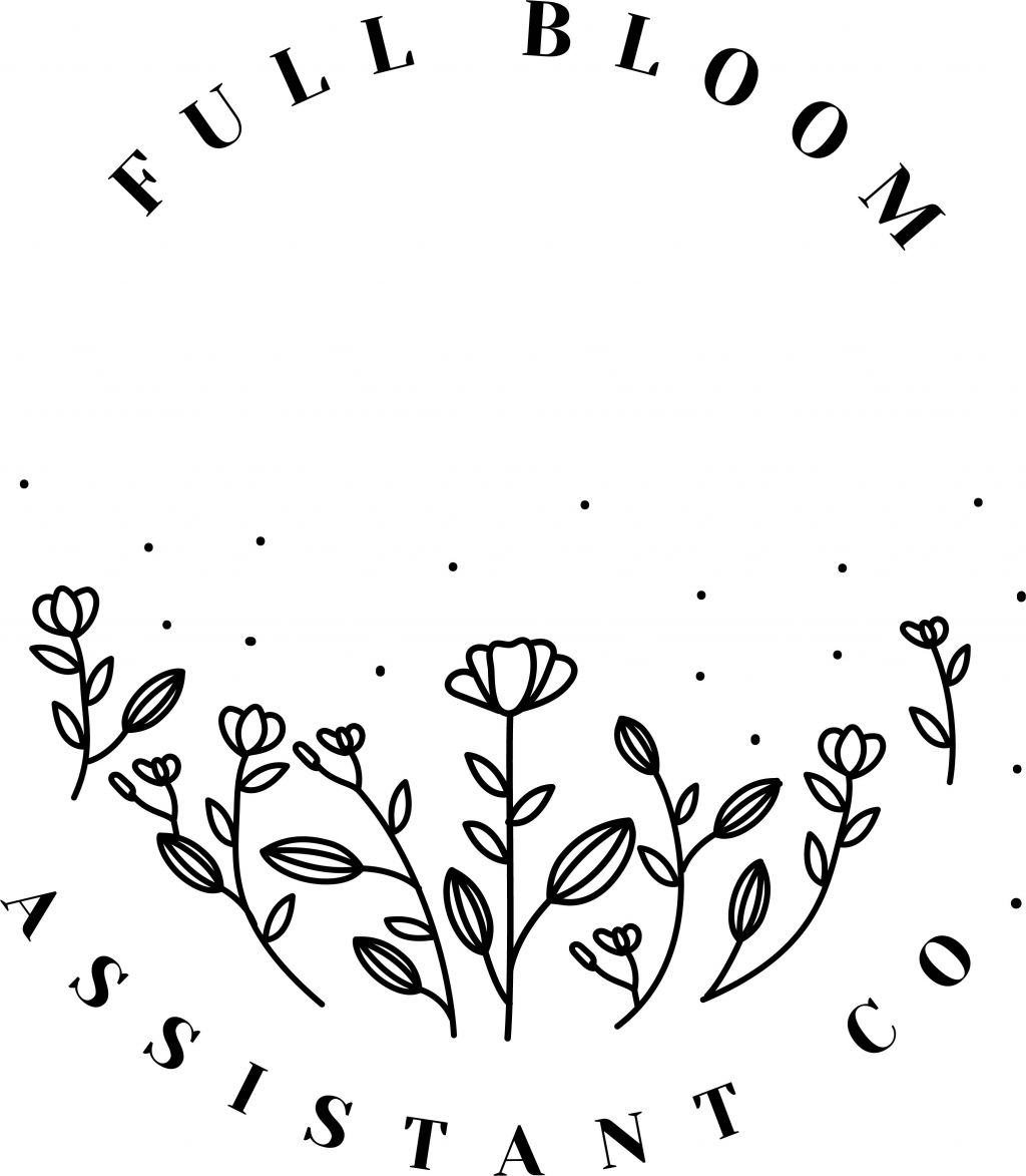 Full Bloom Assistant Co. Logo